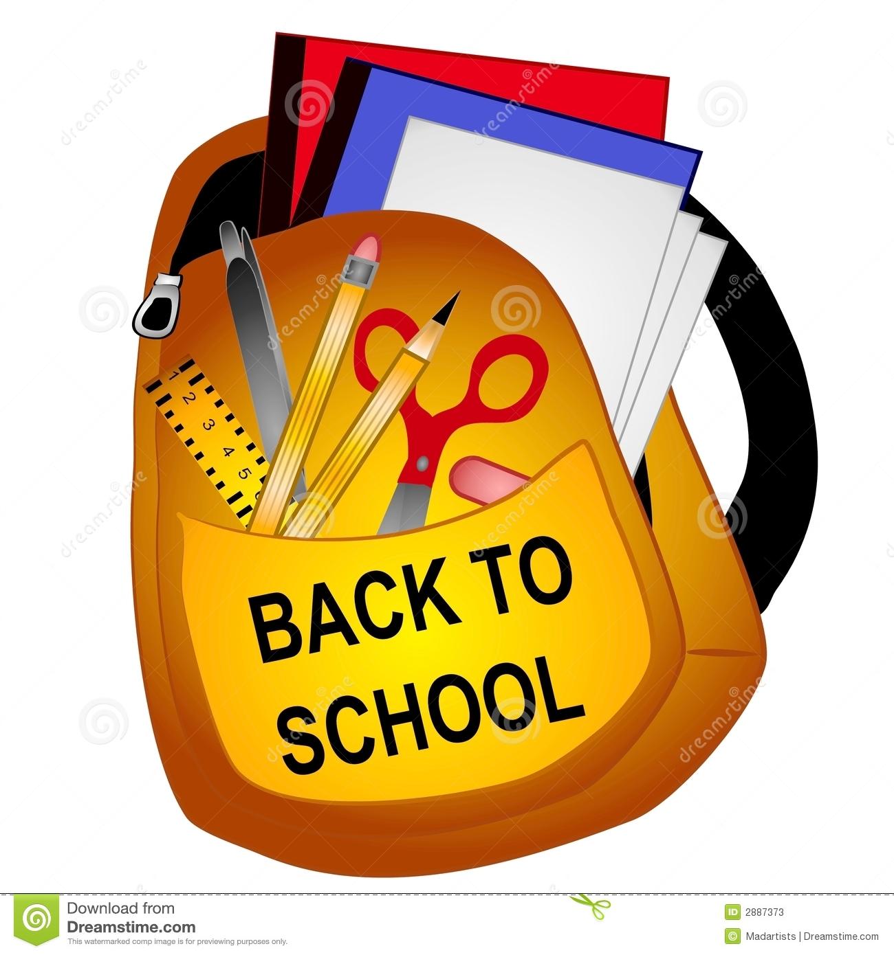 School Supplies: School Supplies Clipart